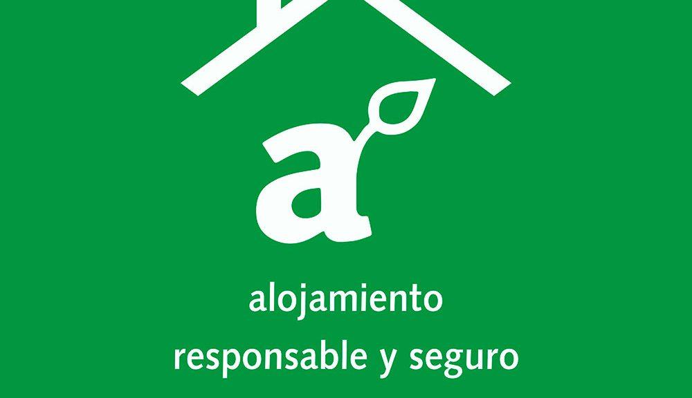 sello alojamiento seguro y responsable de aragon
