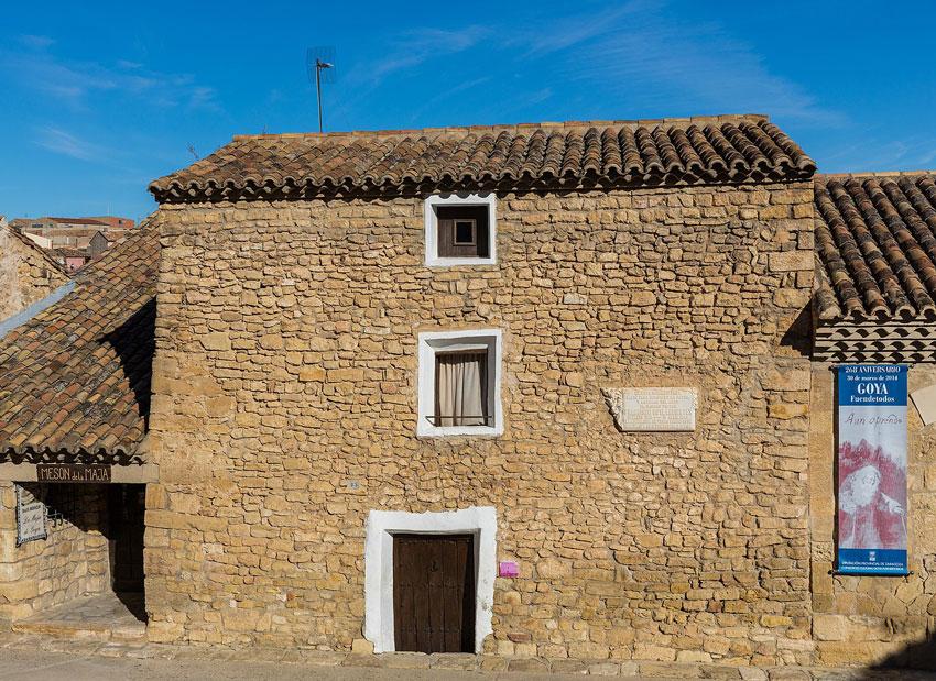 casa natal de Francisco de Goya
