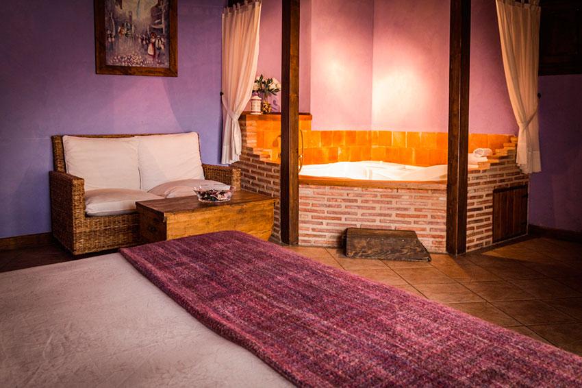 habitación en casa rural compartida