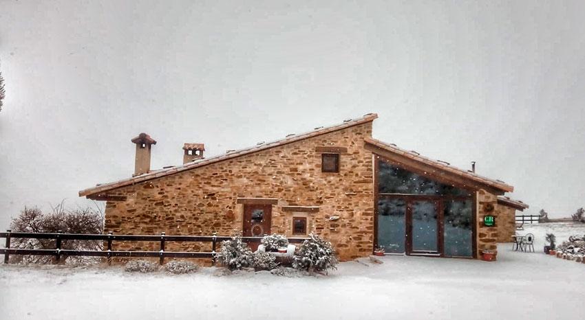 ventajas de celebrar la navidad en una casa rural