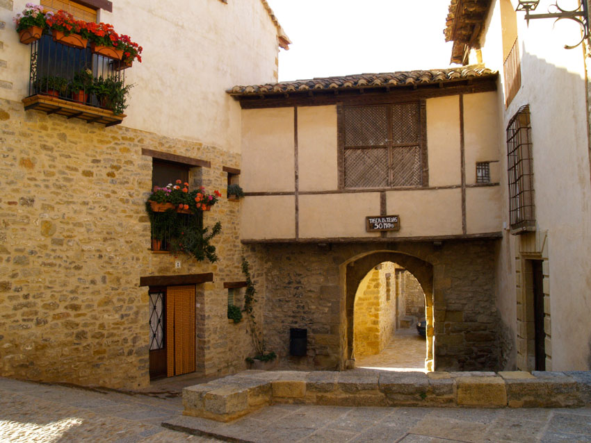 mirambel en el Maestrazgo de Teruel