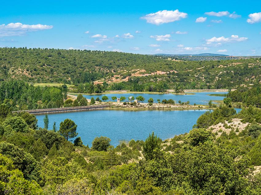 embalse valbona Teruel